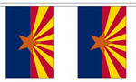 ARIZONA U.S. STATE BUNTING - 9 METRES 30 FLAGS